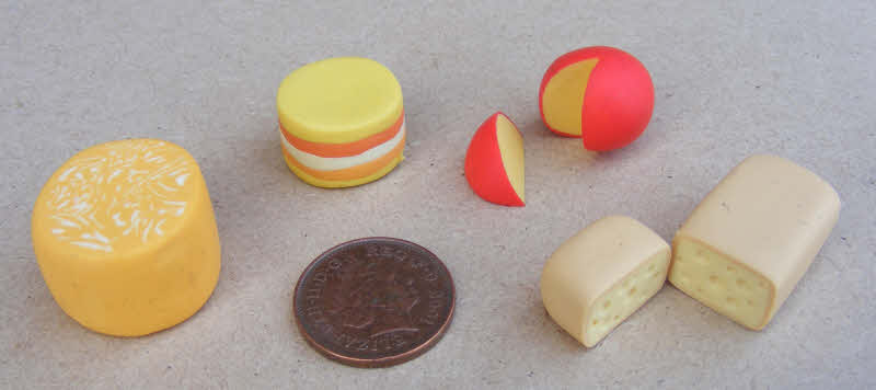 Dolls House Miniature Handmade Aged Provolone Cheese