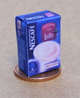 1:12 Scale Empty Latte Coffee Packet Tumdee Dolls House Kitchen Drink Accessory