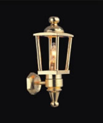 1:12 Scale Working Brass Coach Light Lamp Dolls House Miniature Light 2022