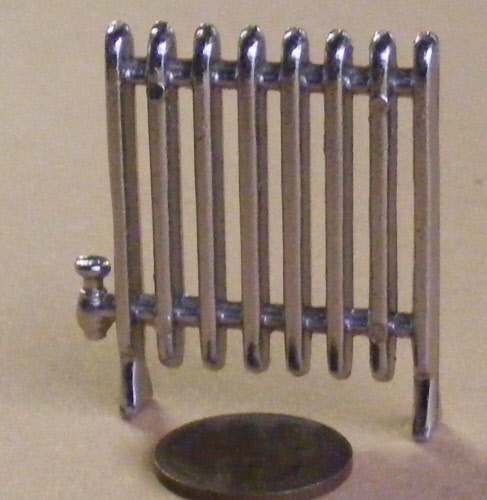 1:12 Scale Silver Metal Mixer Tap Tumdee Dolls House Miniature Accessory 669