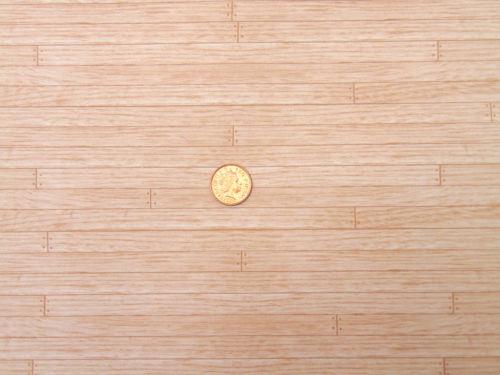 45cmx32cm-estable de papel-parqué-nuevo Puppenstubentapete