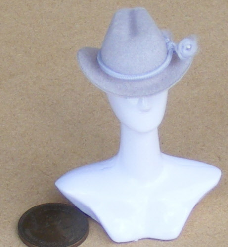 Dolls House Miniature Mens Hats d4611062f8fa