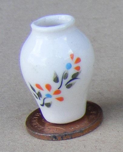 Dolls House Miniature Ceramic Vases