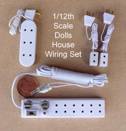 1:12 Scale Single Non Working Light Switch Tumdee Dolls House Miniature W20
