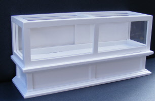Dolls House Miniatures 1:12th Scale White Shop Counter Unit DF273WH
